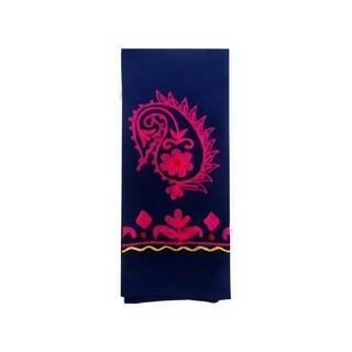 Colorful Embroidered Rabari Towel (India)