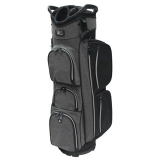 RJ SPORTS EL-680 Black and Grey Nylon 9.5-inch Deluxe True Cart Bag