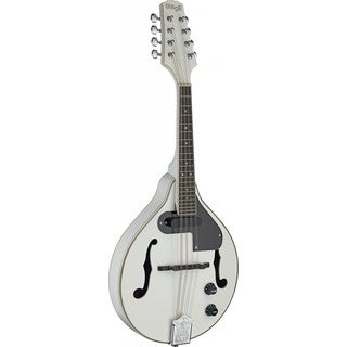 Stagg M50 E WH Acoustic-Electric White Bluegrass Mandolin