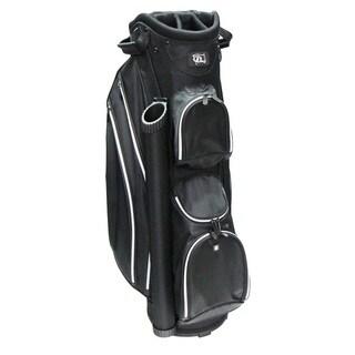 RJ SPORTS DS-590 Black and Grey Nylon Lightweight 9-inch Cart Bag