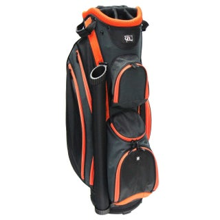 RJ SPORTS DS-590 Black and Grey Nylon Lightweight 9-inch Cart Bag (3 options available)