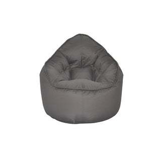 The Pod Grey Medium Bean Bag Chair