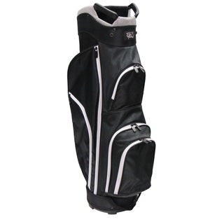 RJ Sports CC-490 Black Nylon 9-inch Starter Cart Bag