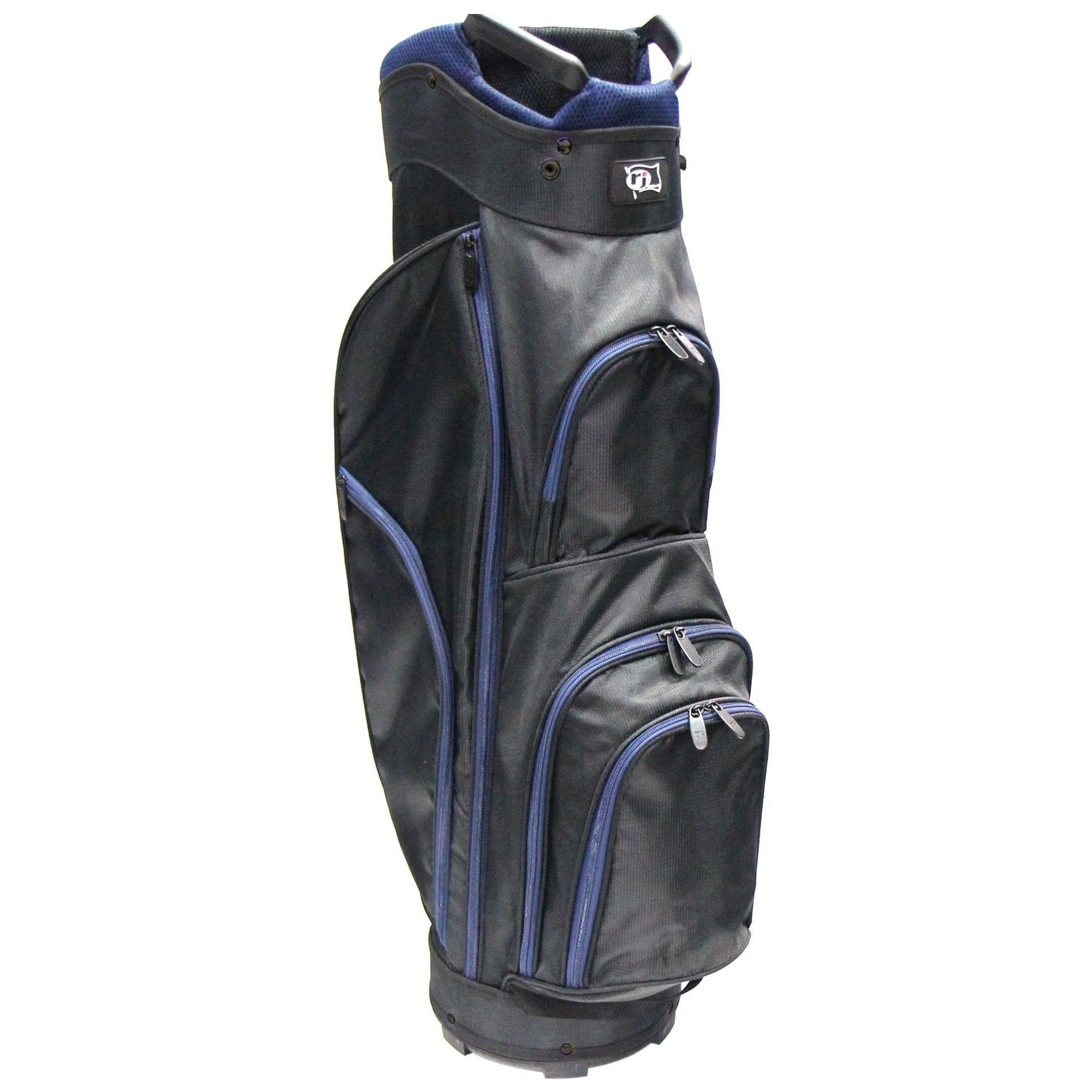 Rj Sports CC-490 Black Nylon 9-inch Starter Cart Bag (Bla...