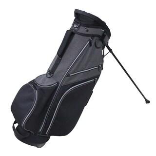 RJ Sports SB-595 Deluxe Nylon 9-inch Golf Stand Bag