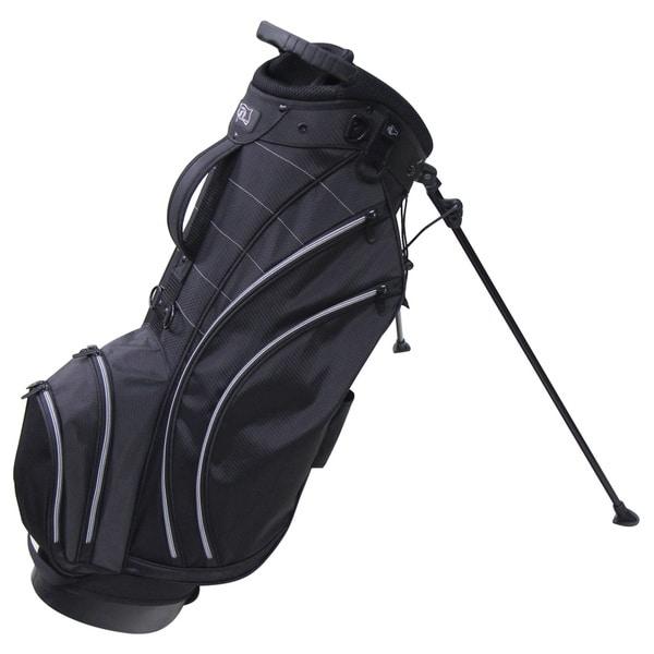 RJ Sports SB-495 Nylon 9-inch Lightweight Golf Bab with Stand