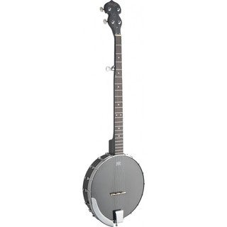 Stagg BJW-OPEN 5 Black Wood Open Back 5-string Banjo