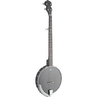 Stagg BJW-OPEN 5 Black Wood Open Back 5-string Banjo
