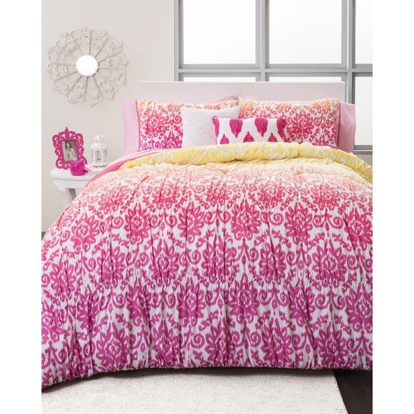 Seventeen Deliah Ikat 3-piece Comforter Set