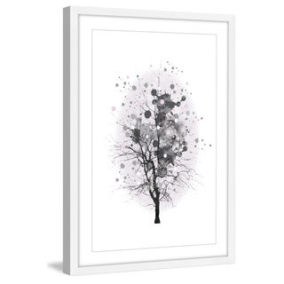 Marmont Hill - 'Branch Splash' by Katarina Snygg Framed Painting Print
