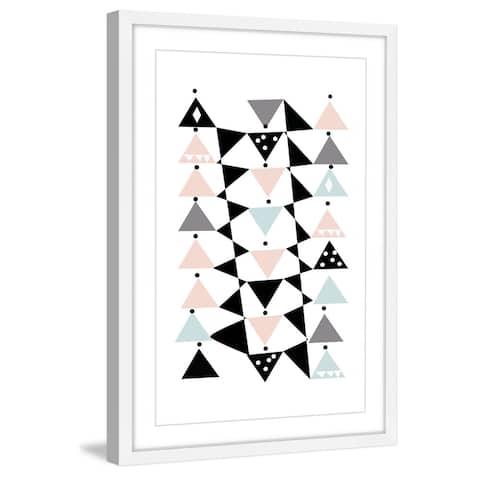 Marmont Hill - Handmade Triangle Dance Framed Print