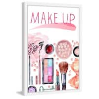 Marmont Hill - 'Make Up Fun' Framed Painting Print - Multi