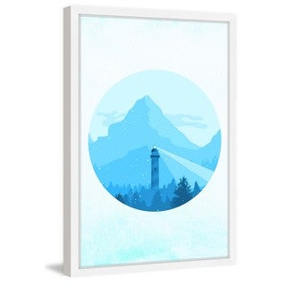 Marmont Hill - 'Snow Day' Framed Painting Print