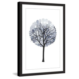 Marmont Hill - 'Midnight Elm I' Framed Painting Print