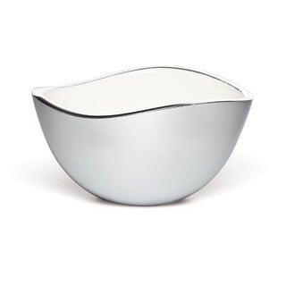 Savora White Alloy 6-inch Serving Bowl