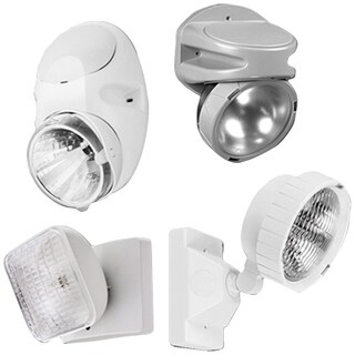 Lithonia Lighting White Thermoplastic LED Emergency Remote Head
