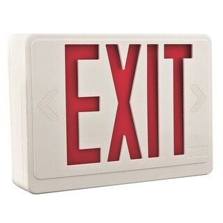 Lithonia Lighting LHQM LED R HO R0 M6 Quantum LED Thermoplastic Emergency Exit Sign