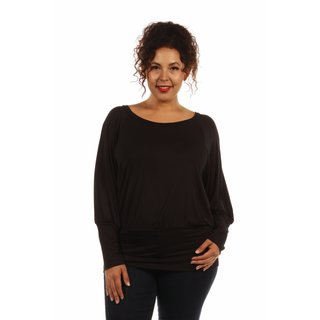 The Charmer Blouson Plus Size Tunic for Day into Evening