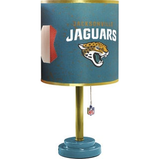 Jacksonville Jaguars Wood and Plastic Table Lamp