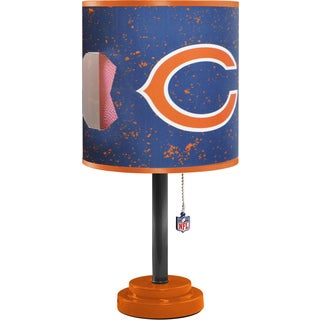 Chicago Bears Plastic Table Lamp
