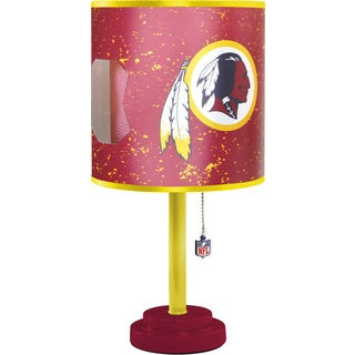 Washington Redskins Table Lamp