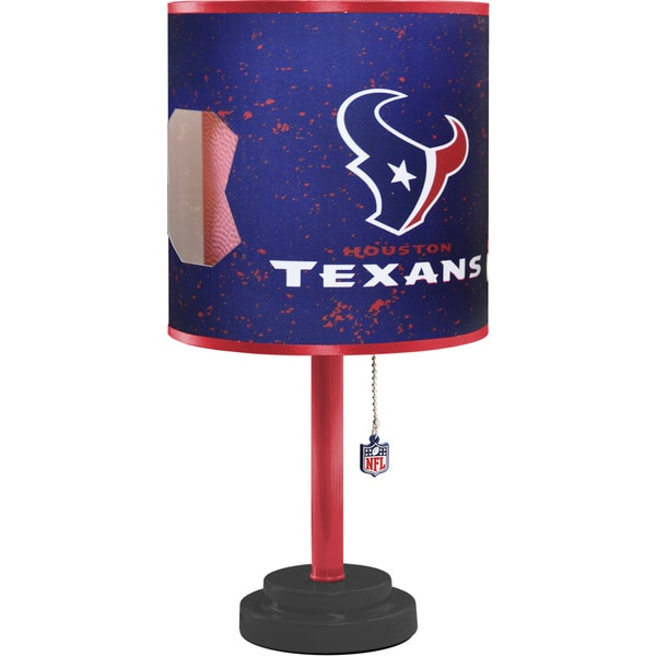 30e632ff8faf Shop NFL Houston Texans Table Lamp - Free Shipping On Orders Over  45 -  Overstock - 13042785