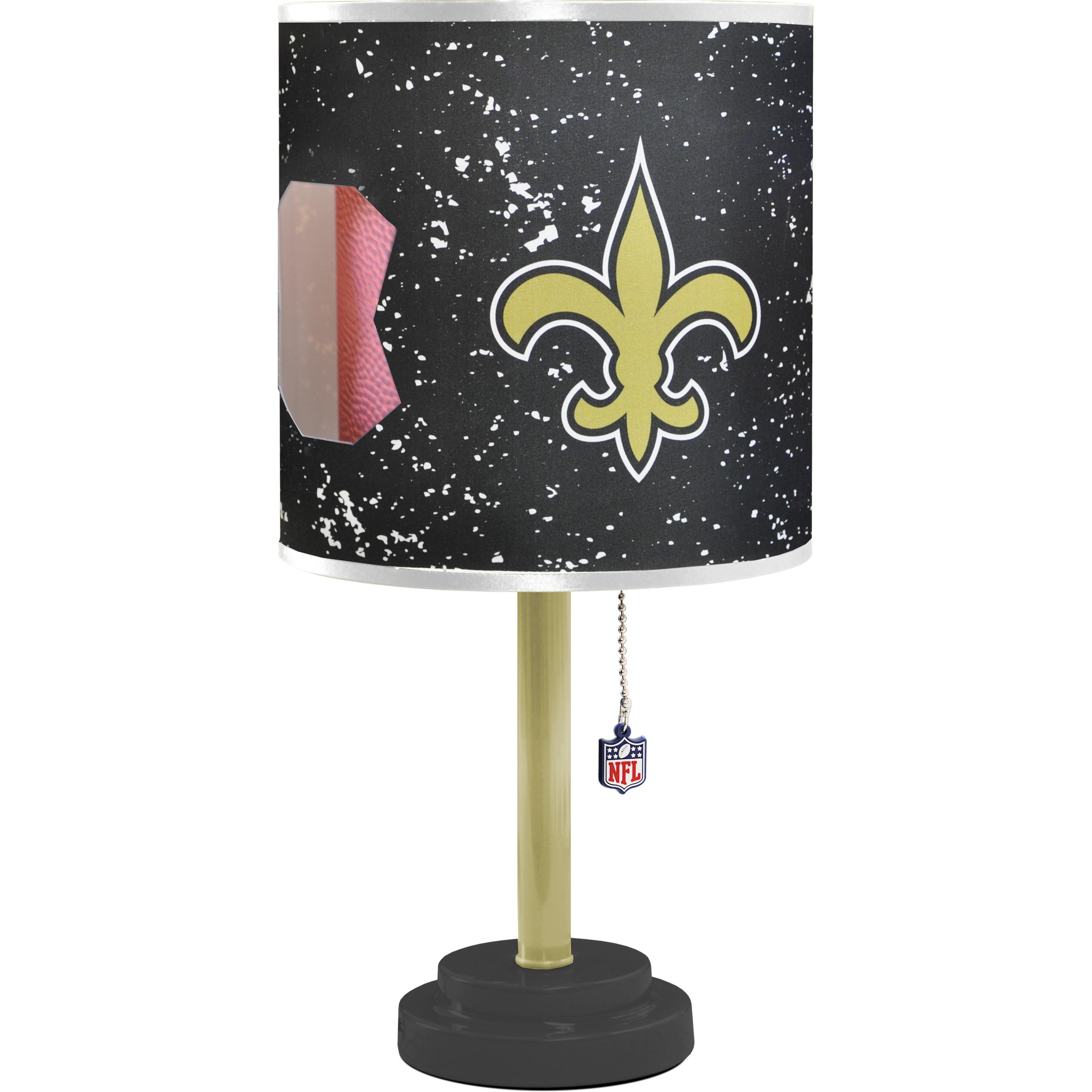 New Orleans Saints Desk Lamp