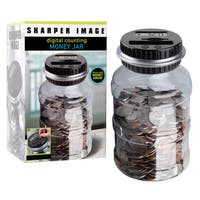 Sharper Image Coin Counting Jar