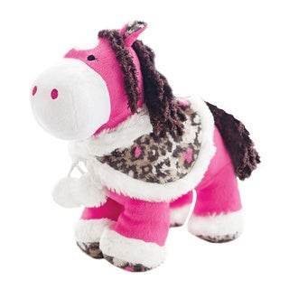 Pink Tessie The Plush Pony