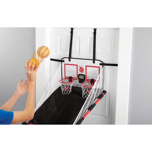 Black Series Over the Door Basketball Game - Free Shipping On Orders Over $45 - Overstock.com - 19782873