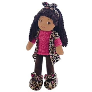 GirlznDollz Emme Pink Leopard Fabric Doll|https://ak1.ostkcdn.com/images/products/13043351/P19782897.jpg?impolicy=medium