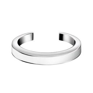 Calvin Klein Women's Stainless Steel and Resin Chain Fashion Bracelet