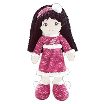 Jessica Winter Snowflake Fabric Doll