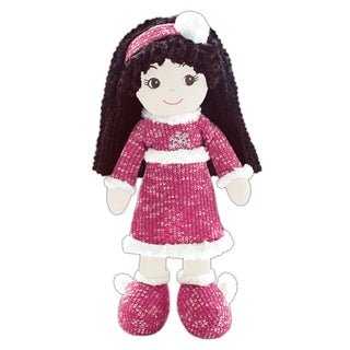 Jessica Winter Snowflake Fabric Doll
