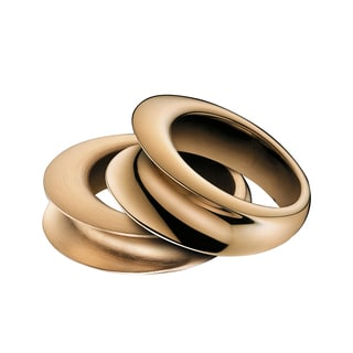 Calvin Klein Women's Yoyo Rose Goldplated Stainless Steel Fashion Ring