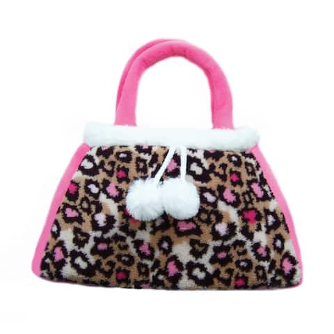 Pink Leopard Toddler Purse