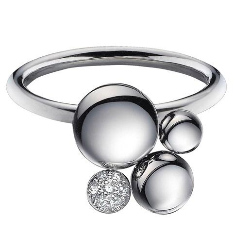 Calvin Klein Women's Liquid Stainless Steel Fashion Ring