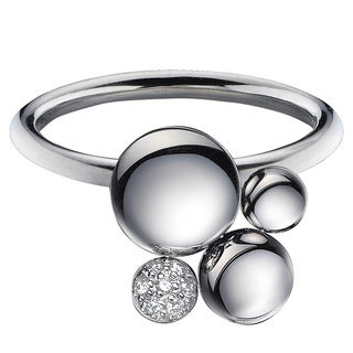 Calvin Klein Women's Liquid Stainless Steel Fashion Ring