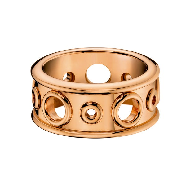 38c86ac3c4 Shop Calvin Klein Women s Notch Rose Gold PVD-coated Stainless Steel Fashion  Ring - On Sale - Free Shipping On Orders Over  45 - Overstock.com - 13043364