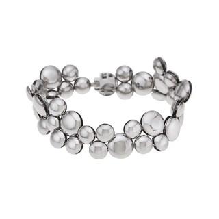 Calvin Klein Women's White Liquid Stainless Steel Fashion Bracelet