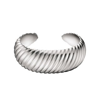 Calvin Klein Women's Waves Stainless Steel Fashion Bracelet