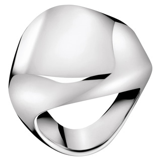 Calvin Klein Women's 'Sensual' White Stainless Steel Fashion Ring