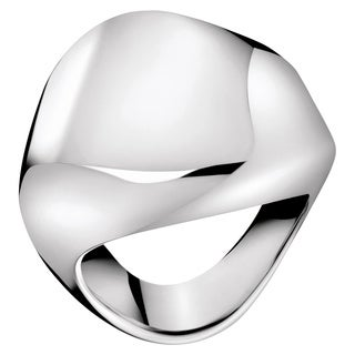 Calvin Klein Women's 'Sensual' White Stainless Steel Fashion Ring (4 options available)