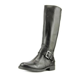 Nine West Women's Fearn Black Leather Boots