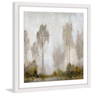 Marmont Hill - 'Misty Marsh I' Framed Painting Print