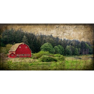 Marmont Hill - 'Widbey's Barn I' Painting Print on Wrapped Canvas