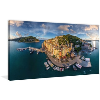 Marmont Hill - 'Porto Venere' Painting Print on Wrapped Canvas