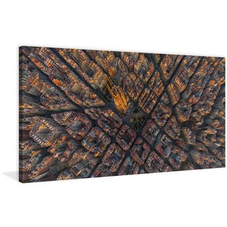 Marmont Hill - 'Barcelona' Painting Print on Wrapped Canvas