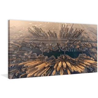 Marmont Hill - 'Dubai' Painting Print on Wrapped Canvas
