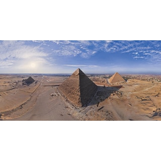 Marmont Hill - 'Egypt Pyramid' Painting Print on Wrapped Canvas